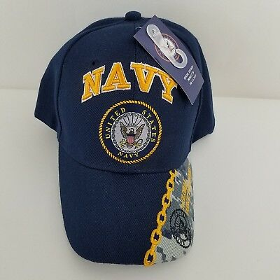 361f7eb9f9acd US Navy Hat Military Official Licensed Baseball Cap Navy A Global Force For  Good