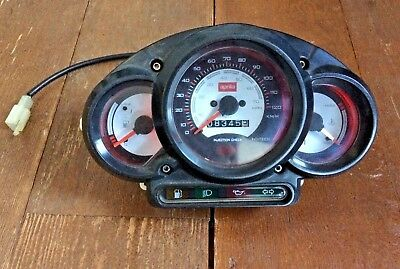 APRILIA SR50 DITECH SR 50 SPEEDO CLOCK SET ONLY 8400km = 5250miles