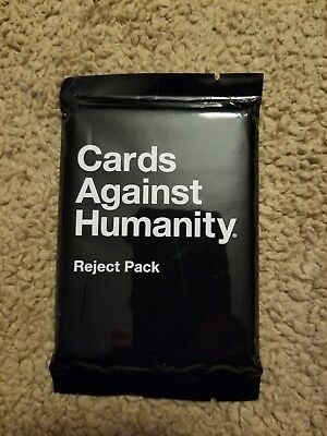Cards Against Humanity Reject Expansion Pack Funny Game Adult Humor