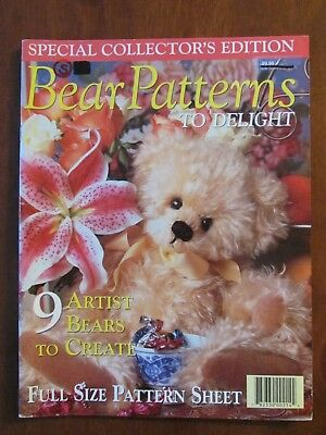 Bear Patterns To Delight Collector's Edition 9 Artist Bears To Create 2000
