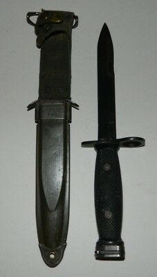 Vintage Vietnam BOC M7 Fighting Knife & PWH USM8A1 Scabbard