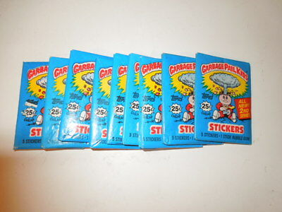 1985 85 Garbage Pail Kids USA 2nd Series 1 Unopened Pack, 1 (x) packs available
