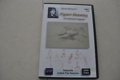 Sherrie McGraw's Figure Drawing the Elemental Language Art Artist Painting DVD