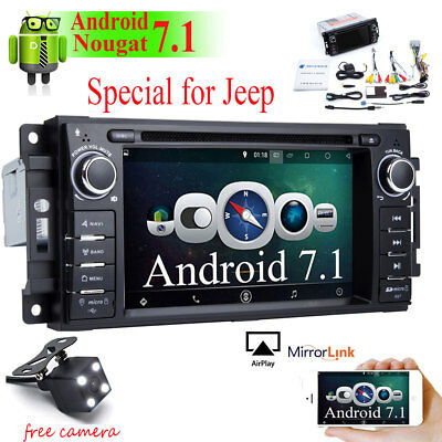 Car GPS Navigation DVD Radio WIFI Stereo For Jeep Grand Cherokee 2005-2011 Dodge