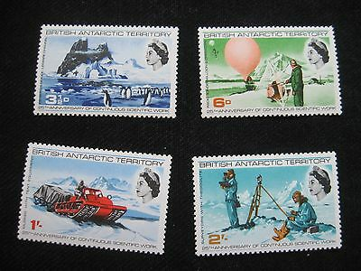 British Antarctic Territory: 1969 Antarctic Scientific Research (MNH)