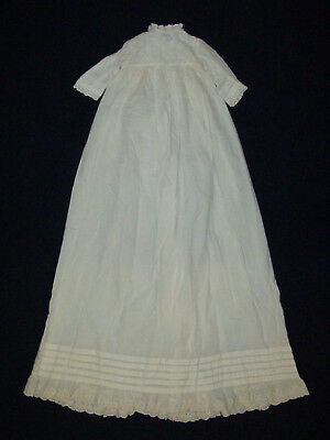 Old Antique Vtg ca 1880s Baby's Christening Dress Gown Beautiful Great Condition