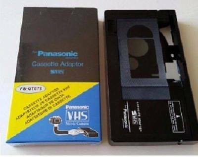 Motorized-VHS-C-Cassette-Adapter- BATTERY-OPERATED INCLUDED