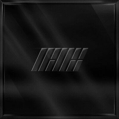 iKON[The New Kids]Repackage Black CD+2p Poster+Book+Lyrics+Card+Gift+Tracking