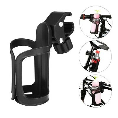 360° Rotation Bike Bicycle Bottle Cage Handlebar Mount Drink Water Cup Holder AU