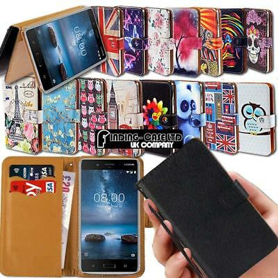 Leather Wallet Stand Flip Case Cover For Nokia 3.1 5.1 6.1 Plus/ 7.1 8.1 / X5 X7
