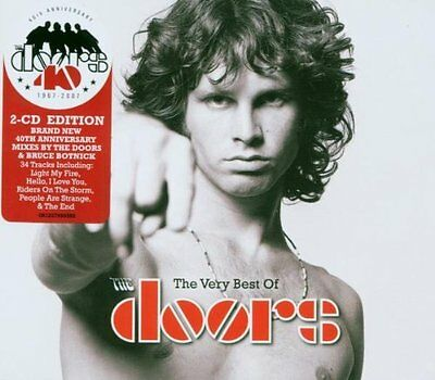 Doors The Very Best of Remastered 2 CD NEW