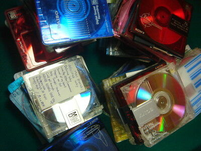 LOT of 90 JAPAN USED MiniDisc as-is Wholesale Recorded J-POPs and so on