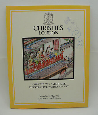 Christie's May 23 1985 CHINESE Ming Qing 18th QIANLONG Jade Furniture CATALOG