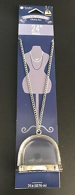 "Blue Moon Beads® Tiny Worlds Fillable Fun ~ Necklace 24"" (60.96cm)"