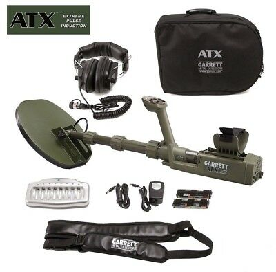 """Garrett ATX Extreme Pulse Induction Metal Detector with 11x13"""" DD Closed coil"""