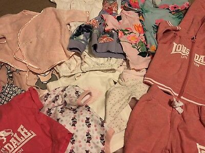 Bulk Lot Of High End Baby Girl Clothes - Seed Heritage/Bunnies By The Bay/Bonds