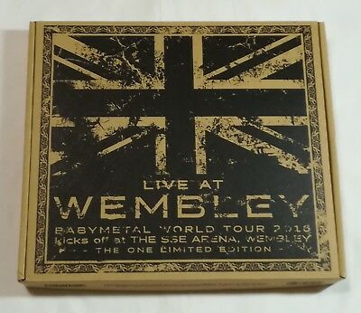 BABYMETAL Blu-ray [LIVE AT WEMBLEY - THE ONE LIMITED EDITION -] JAPAN Blu-ray