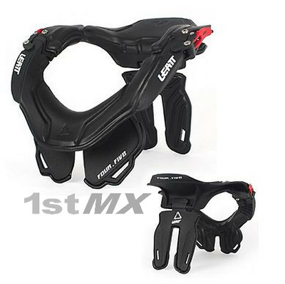 Leatt Club 4.5 GPX Race Motocross MX Enduro Neck Brace Black Adult Small Medium
