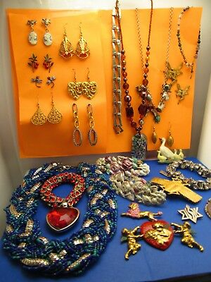 Vintage wholesale lot of Hand Crafted Jewelry Huge European and modern classic 1