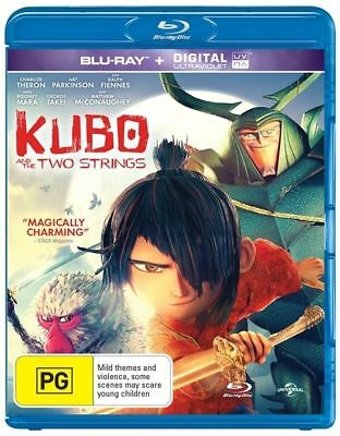 Kubo And The Two Strings (Blu-ray, 2016)