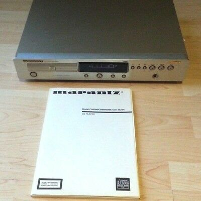 High End CD Player Marantz CD 6000 OSE K .I . Signature HDAM Gold Kontakt Music