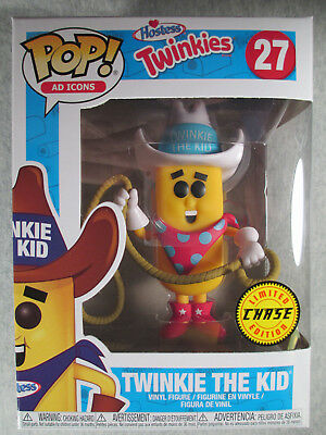 Twinkie the Kid #27 - LIMITED CHASE Edition - Funko POP! Vinyl Figure - Ad Icons