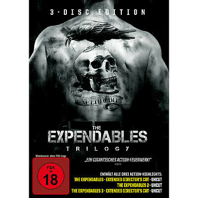 The Expendables Trilogy - (DVD)