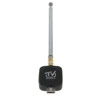 DVB-T USB Tuner Receiver Dongle + Antenna HD TV for Android 4.0 Above Phone