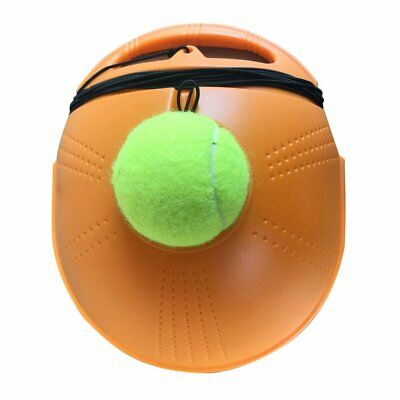 Tennis Ball Back Base Trainer Set with Long Rubber Elastic Rope Band Tennis T2