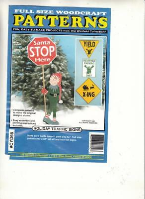 HOLIDAY TRAFFIC SIGNS WOODWORKING PATTERN - By Winfield