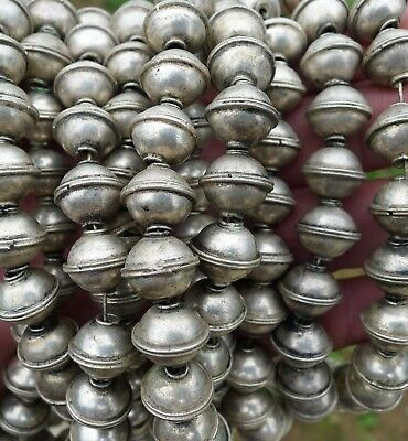 20 Perles Metal 14x12mm Maroc Collier Afrique Moroccan Beads Necklace Africa