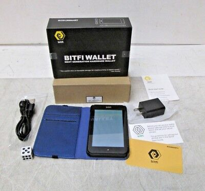 Bitfi Cryptocurrency Crypto Hardware Wallet KNOX-MD40 NEW FREE SHIPPING