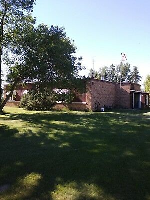2 homes for one price country home on 5 acres and a home in the town of Langdon