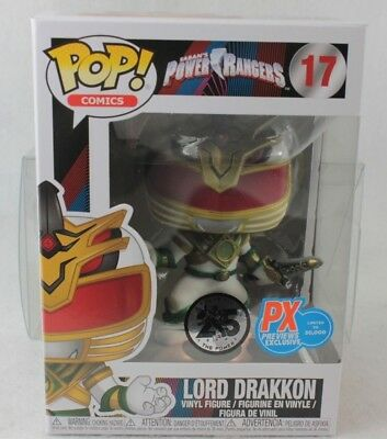 Funko Pop Previews Exclusive LORD DRAKKON Vinyl Figure 17 Power Rangers PX