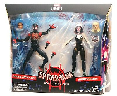 "Marvel Legends - Miles Morales & Spider Gwen - Into The Spider-verse 6"" Figures"