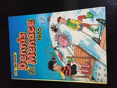 DENNIS The MENACE 1985  Annual DC Thomson & Co. Gnasher/Walter Vintage F/VF 1985