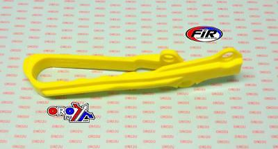 New SWINGARM Chain slider Guide SUZUKI RM 125 250 01-11 RMXZ RMZ 450  YELLOW