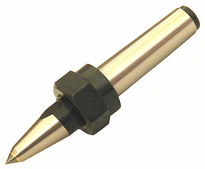 "New Mt5 Cnc Threaded Carbide Dead Center Morse Taper #5, 0.000197"" Tir"