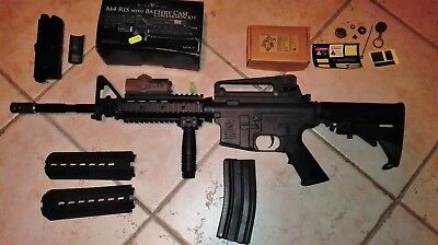 Fucile Da Softair M4 King Arms Full Metal + Accessori