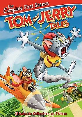 Tom And Jerry Tales The Complete First Season Dvd Box Set One 1 New/sealed
