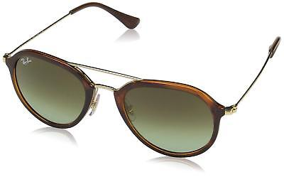 Ray Ban RB4253 820/A6 53MM Gradient Sunglasses Gold Tone/Green/Tortoise