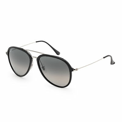 Ray Ban RB4298-601/71-57 Black Silver / Grey Gradient 57mm Sunglasses