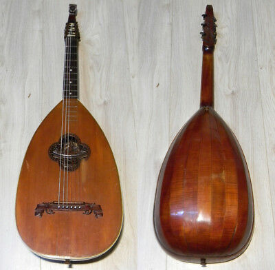 gorgeous GOLDKLANG guitarlute SWAN guitar lute Windisch Laute Germany 1920s