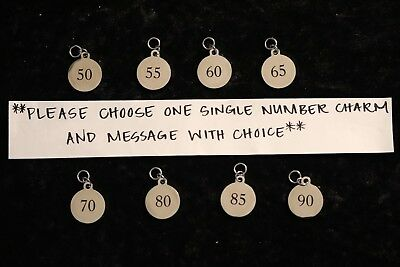 Exclusive Line BFS1383 Quantity Options Courage Stainless Steel Charms