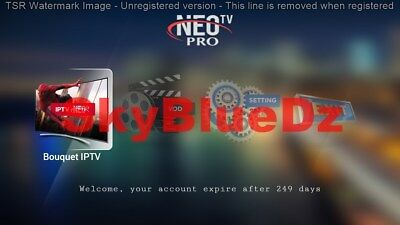 RECHARGE CODE  IPTV NEO | 12 MOIS | Sous ANDROID, ENIGMA2,