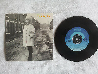 "THE SMITHS - Heaven Knows I'm Miserable Know Original GERMAN 7"" EX/VG Intercord"