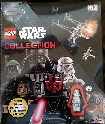 NEW & Sealed Lego Star Wars Collection - 10 Books & 1 Limited Edition Minifigure