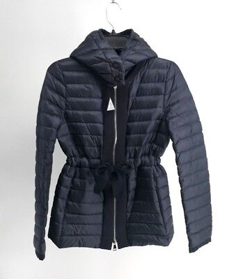 4d3e8e183 MONCLER PERICLASE QUILTED Shell Jacket w/ Detachable Hood (NWT, US4, Navy  Blue)