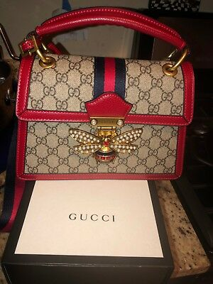 04ade1ffe3b1 GUCCI SMALL GG Queen Margaret top handle bag -  1