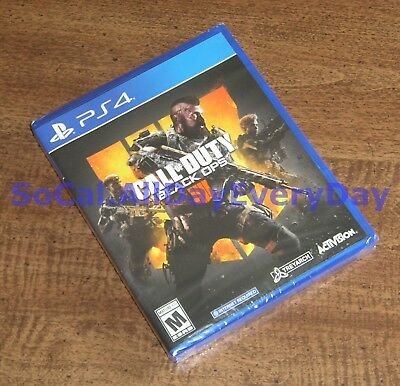 Call of Duty Black Ops IIII 4 (PlayStation 4, physical) BRAND NEW & SEALED!! ps4